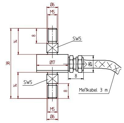 超载传感器接线图