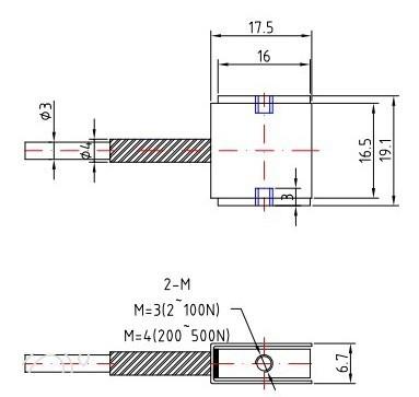微型压力传感器│小型称重传感器│小尺寸测力传感器