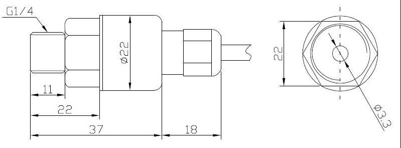 产品名称:经济型压力变送器evt100ap