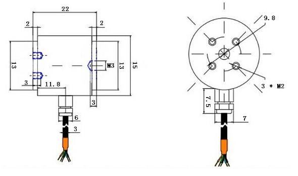 柱式压力传感器_20n_50n